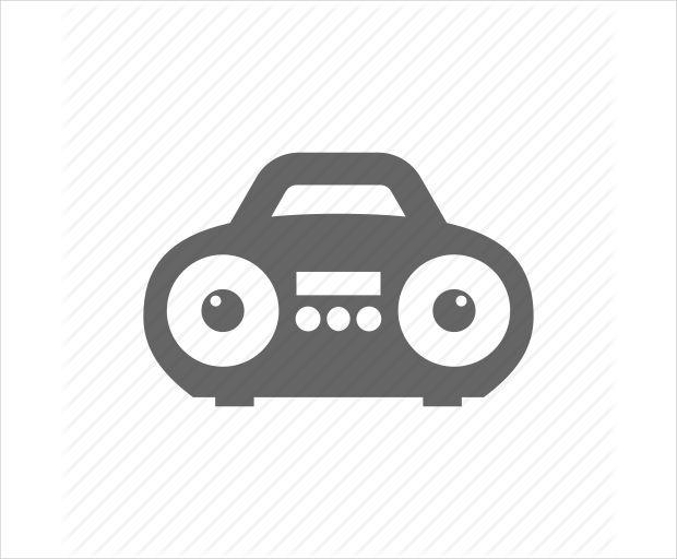 Boombox Speaker Icon