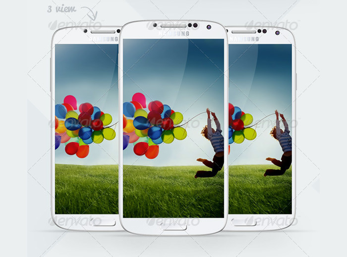 sample smartphone layout design
