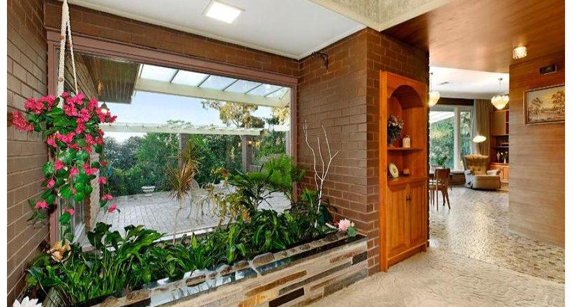 Brick Wall Garden Design