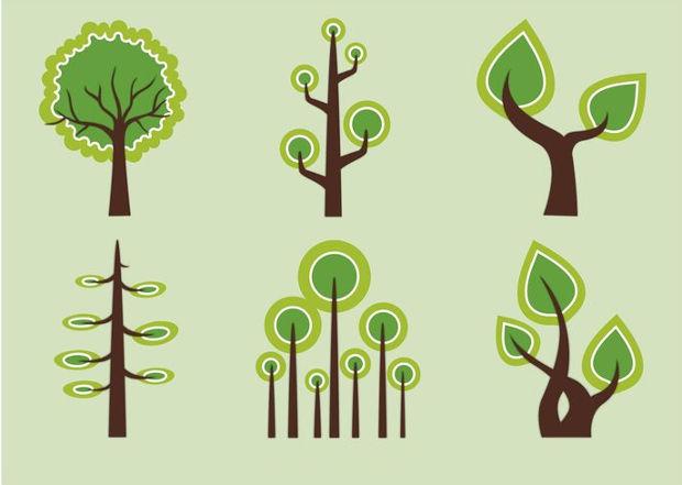 geometric trees vector