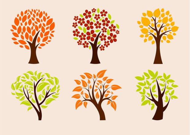 Eco Trees Vector