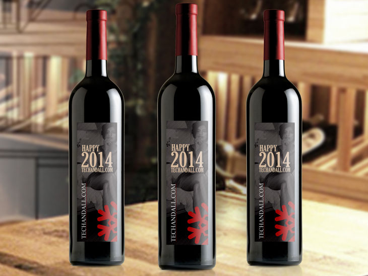 wine bottle mockup2