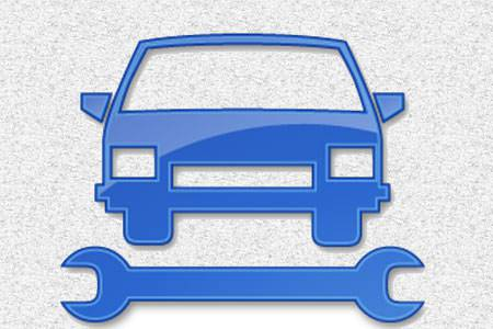 Car Icon,Designs,Wrench,Blue Car