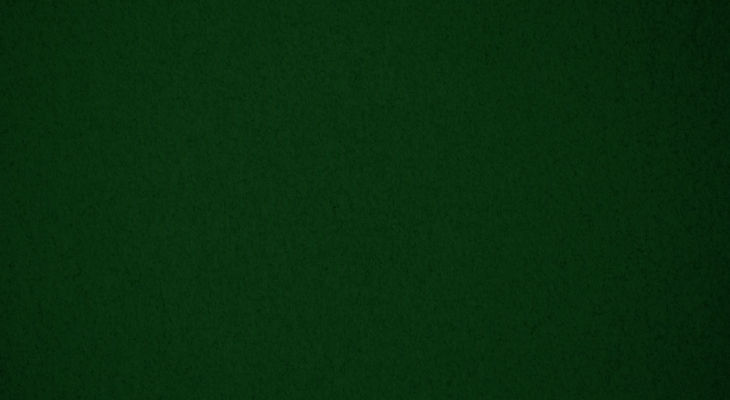 dark green background