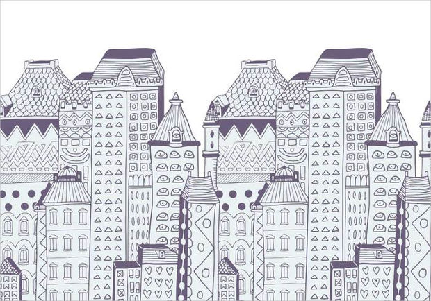 Beautiful Buildings Vector