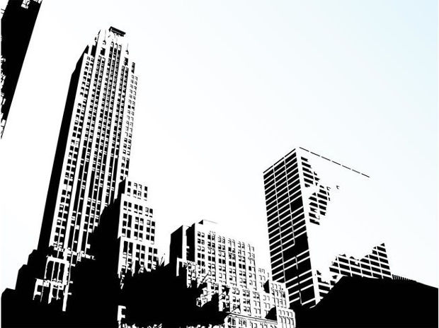 City Skyline Building Vector