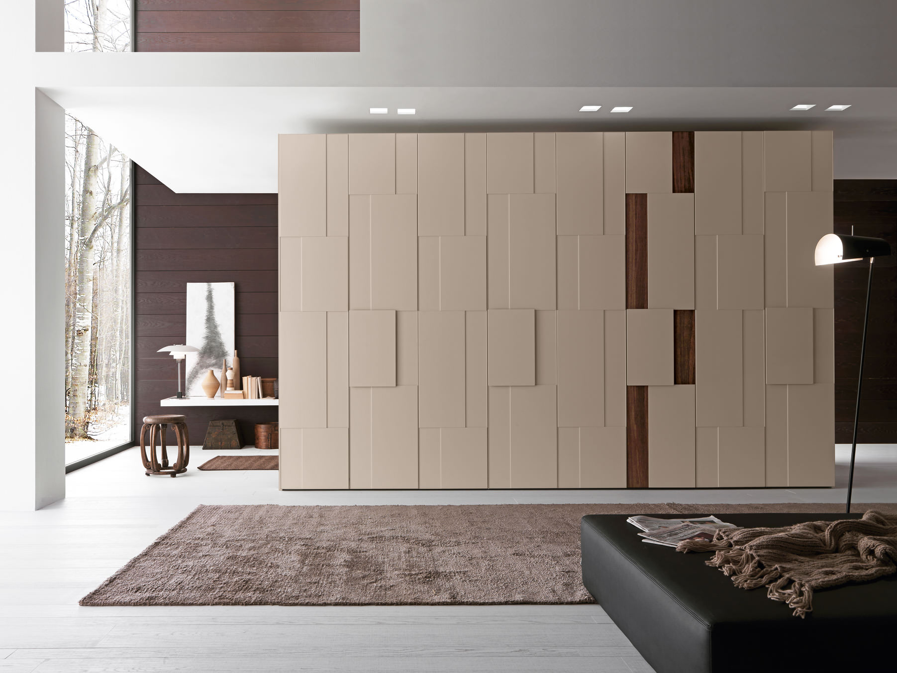 Modern wardrobes trend home designs design trends for Bedroom built in wardrobe designs
