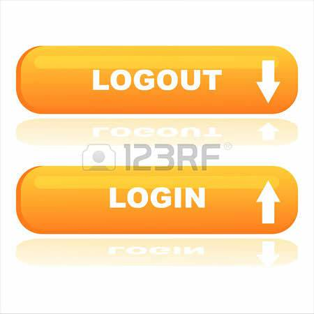 login and logout buttons3