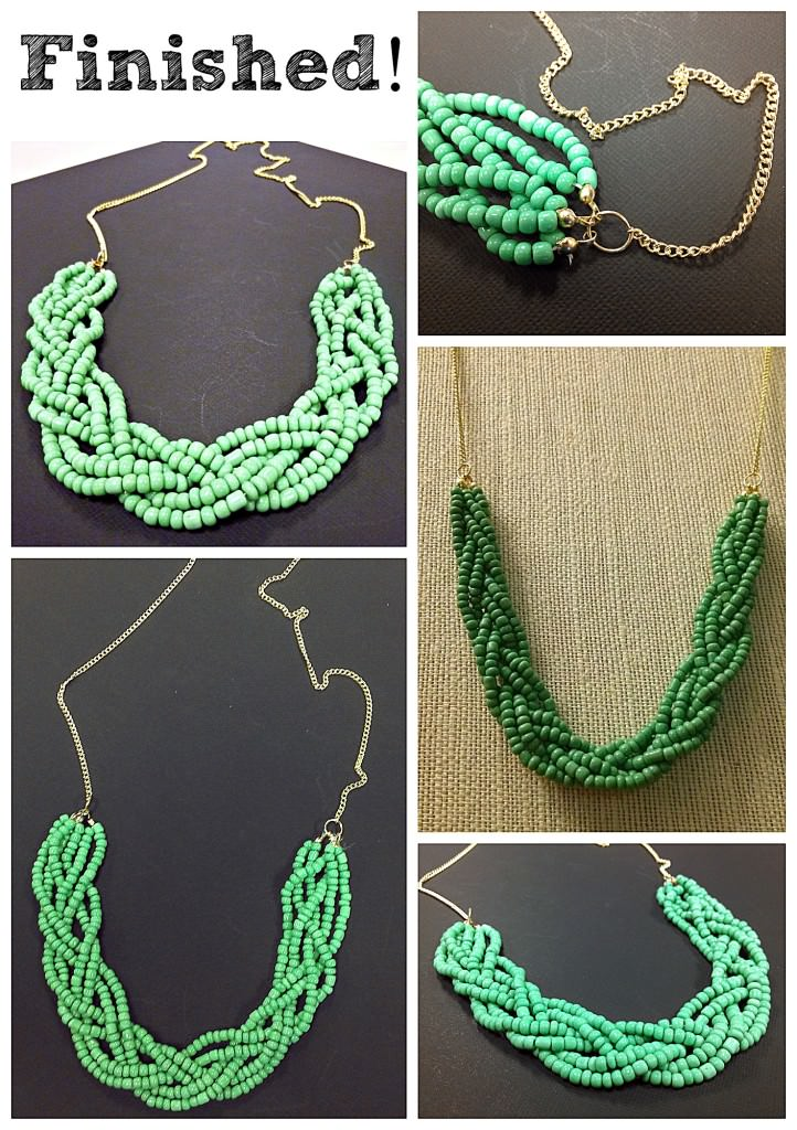 Diy Bead Necklace Design