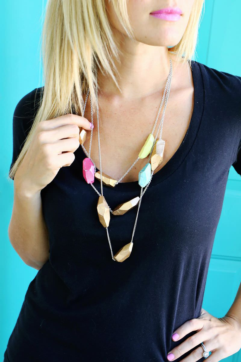 Diy Geometric Necklace Design