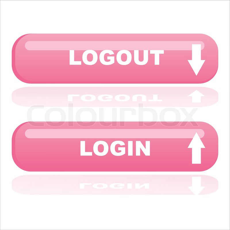login and logout buttons14
