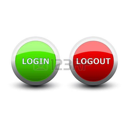 login and logout buttons16