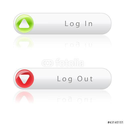 login and logout buttons17