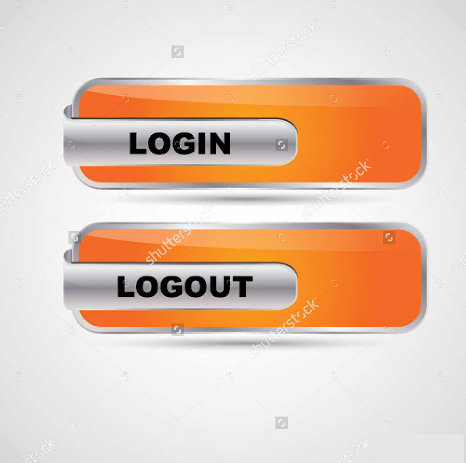 login and logout buttons21