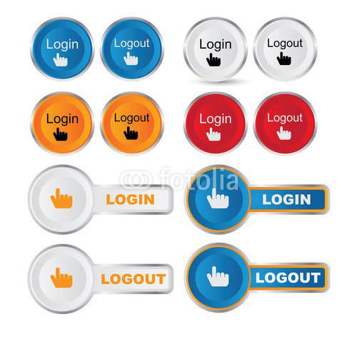 login and logout buttons23