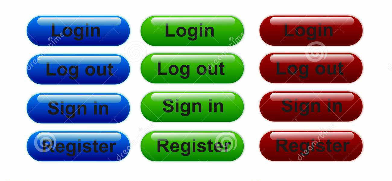 login and logout buttons28