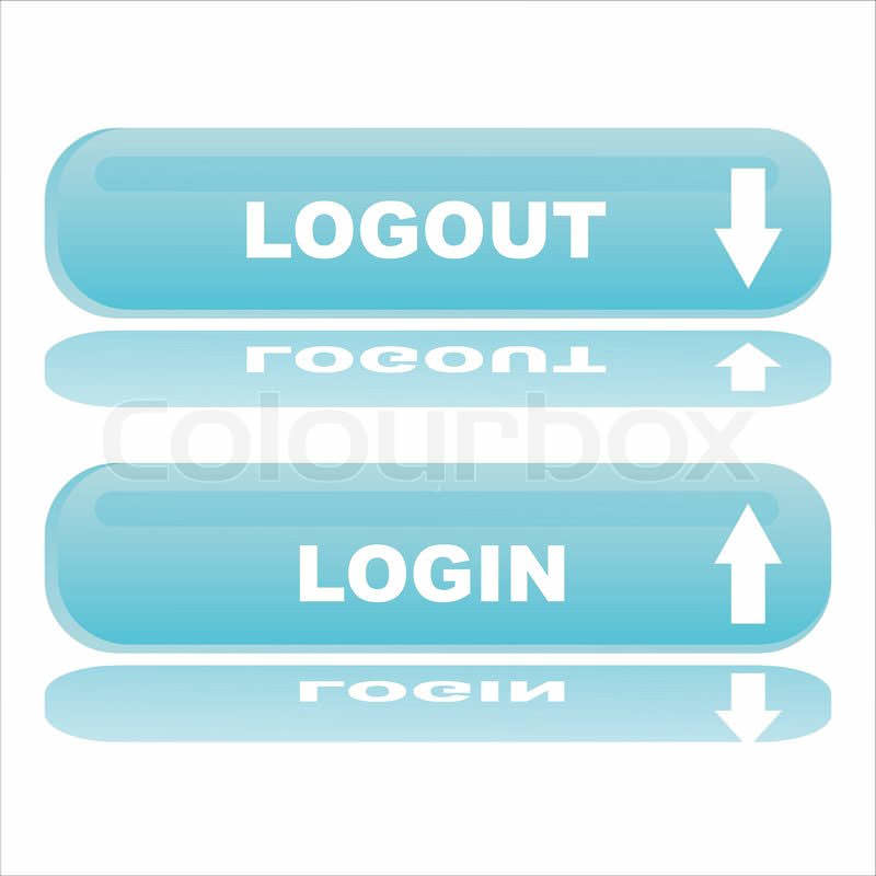 login and logout buttons29