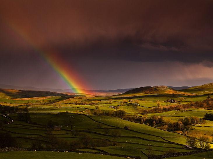 Natural Rainbow Background