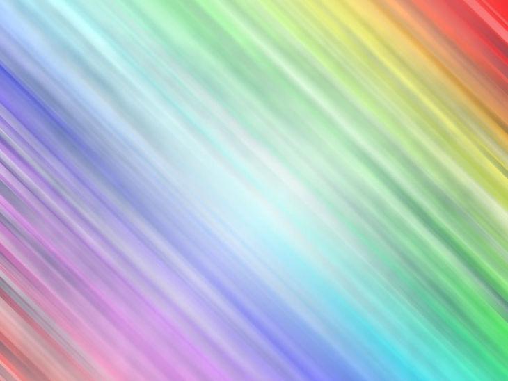 Rainbow Shine Background