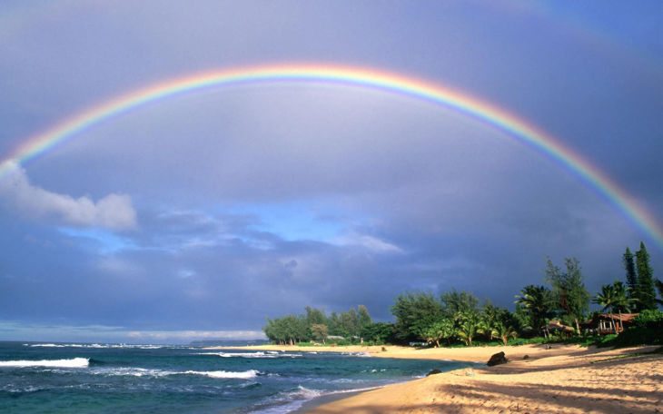 Awesome Rainbow Background