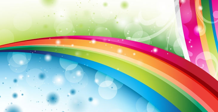 animated rainbow background