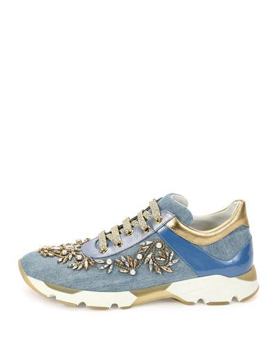 Denim Women Designer Sneaker