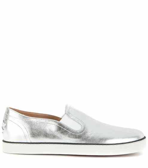 Silver Women Designer Sneaker