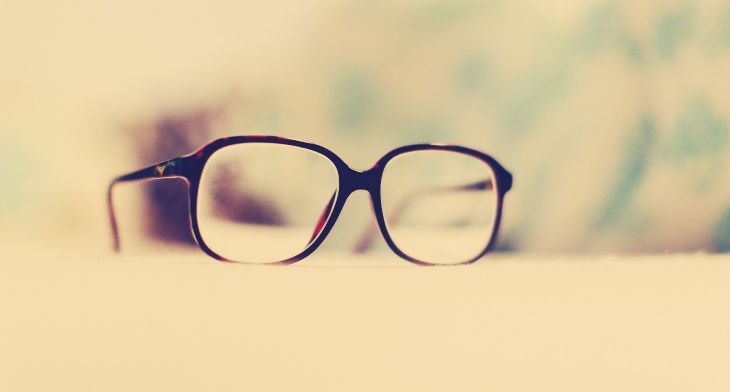 Hipster Glasses Background