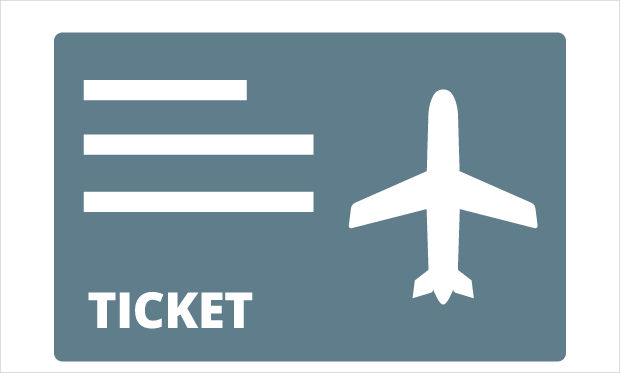 Travel Ticket Icon