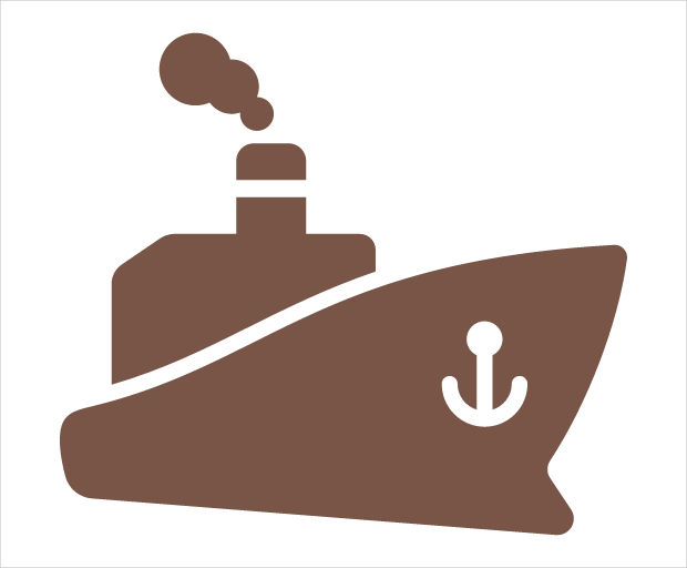 Ship Travel Icon