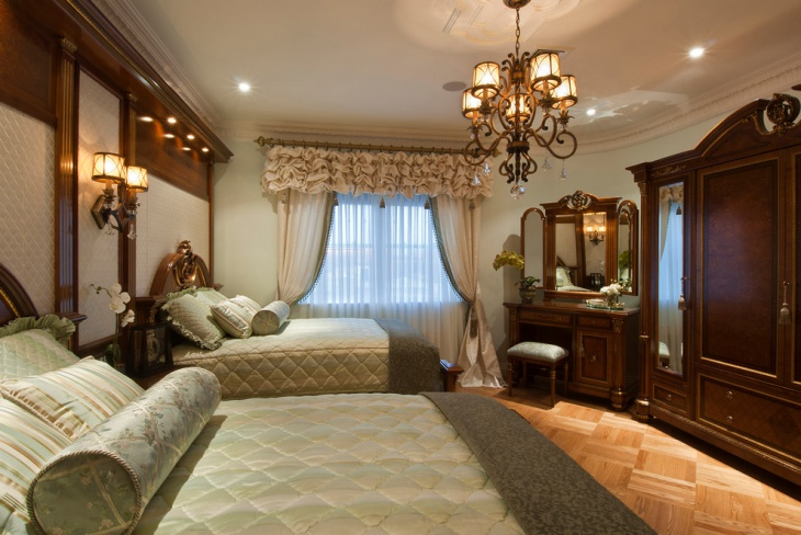 Antique Living Room Bed Design