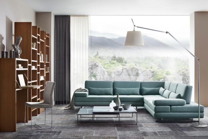 Living Room Wall Shelve Unit