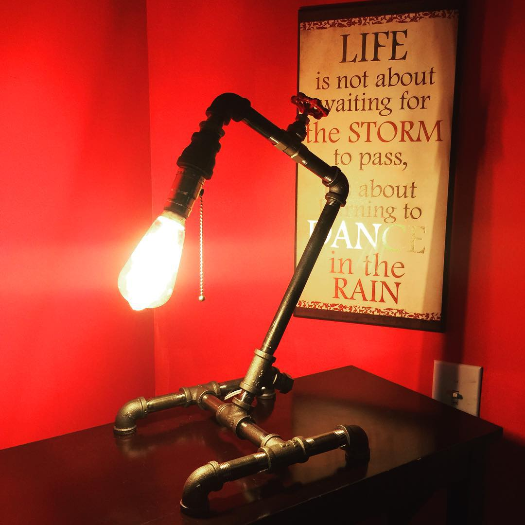 Awesome Pipe Lamp