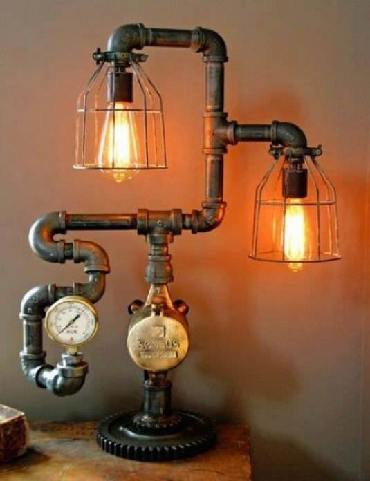 Beautiful BPipe Lamp Design