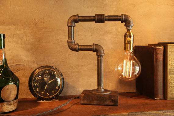 Dimmable Pipe Lamp Design