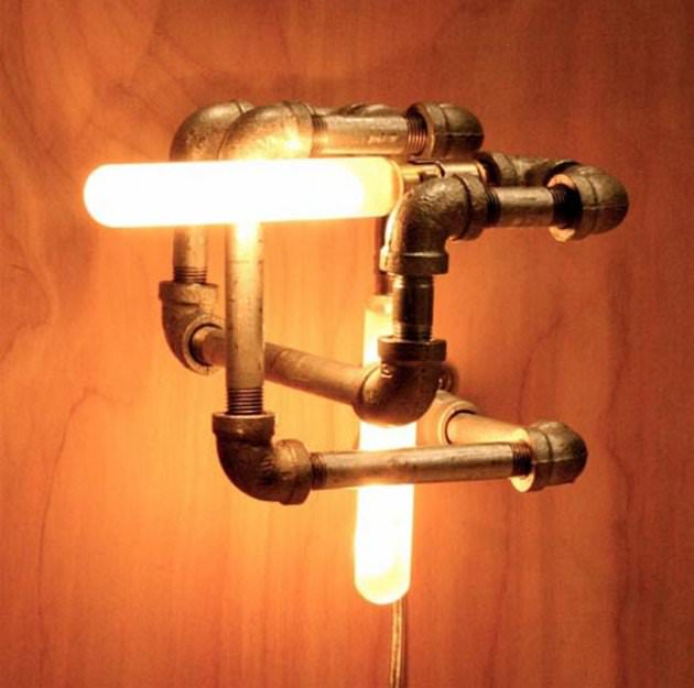 Pipe Cool Lamp Design