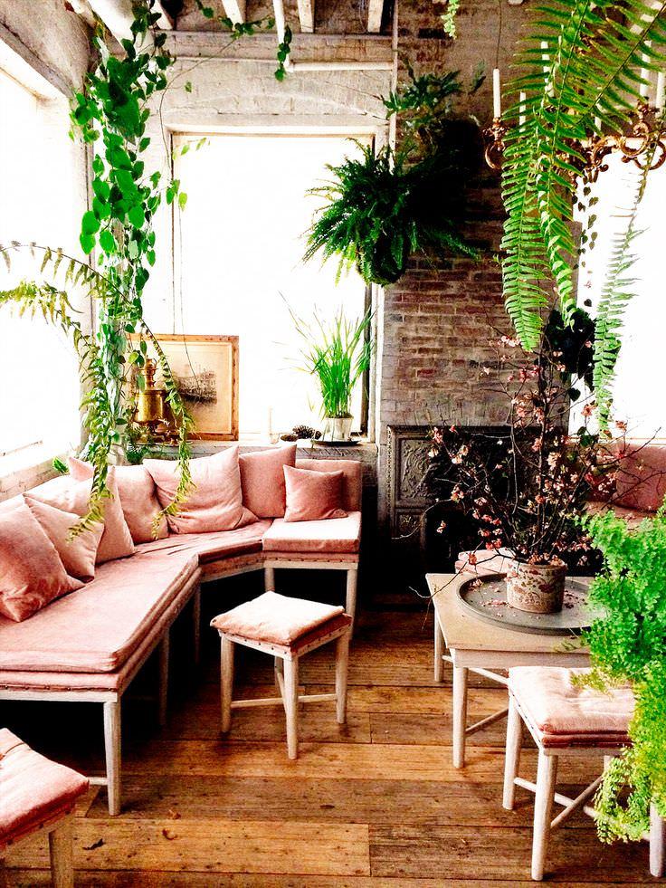 pink sofa living room designs design trends