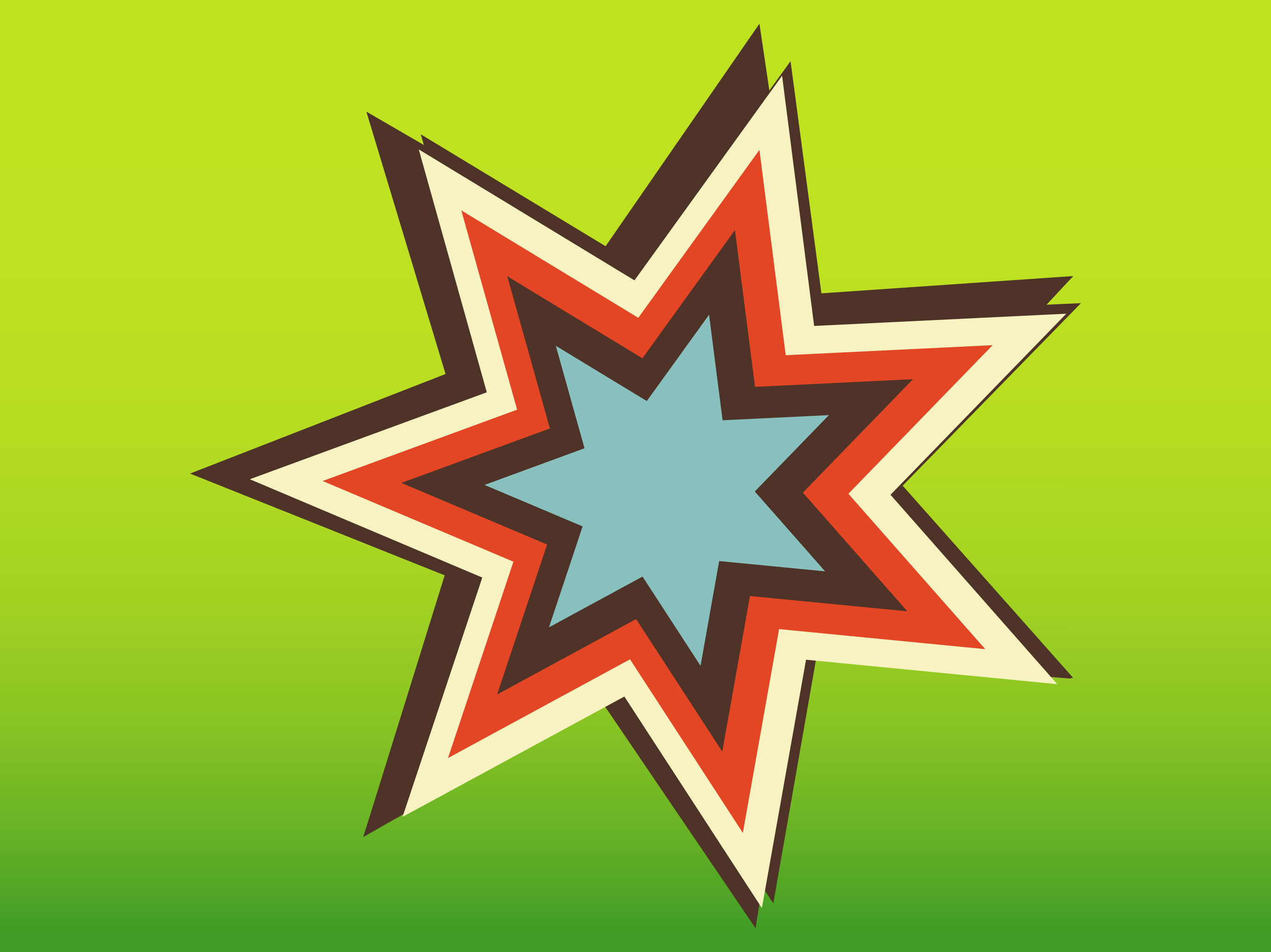 Star Vectors,Retro
