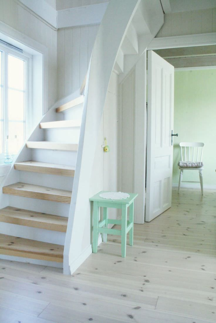 attic stairway ideas - Staircase Designs For Small Spaces