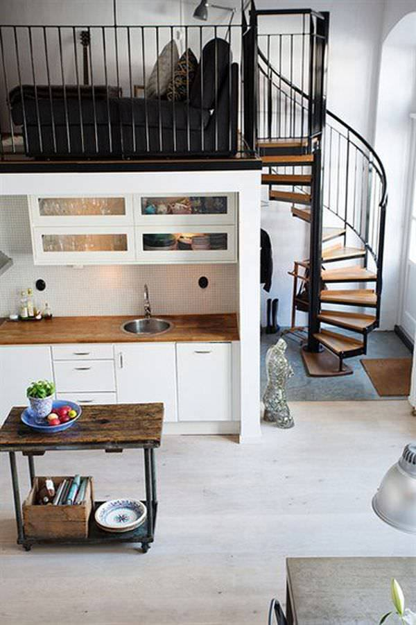 Nordic Staircase Designs for Small Spaces