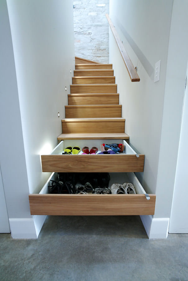 Positive Staircase Design For Small Spaces