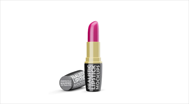 Realistic Lipstick Mockup