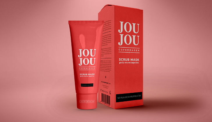 Cosmetic Cream Tube Bottle Mockup