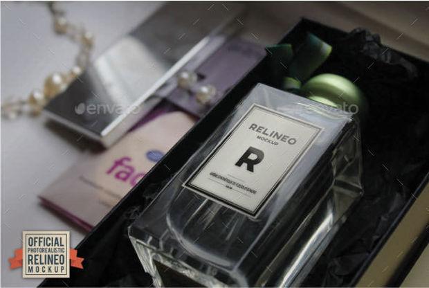 Photo Realistic Perfume Mockup