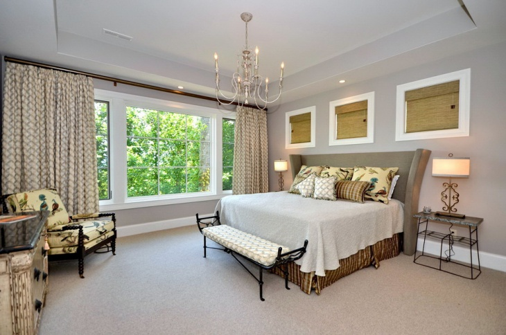Full Size Traditional Bedroom Design