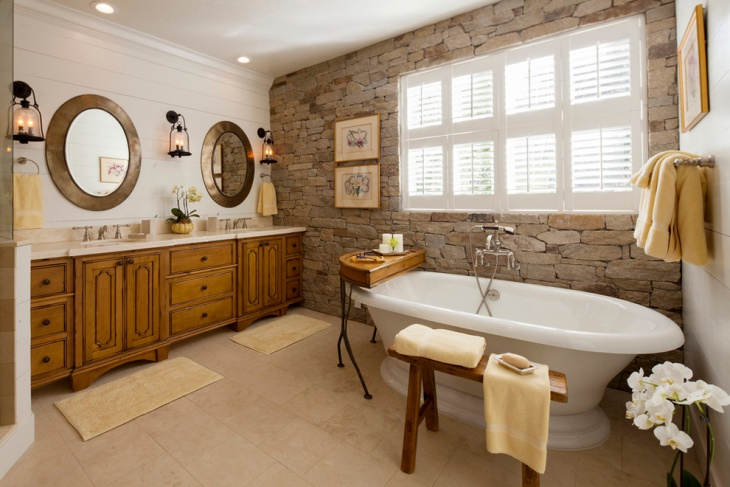 Traditional Bathroom Interior Idea