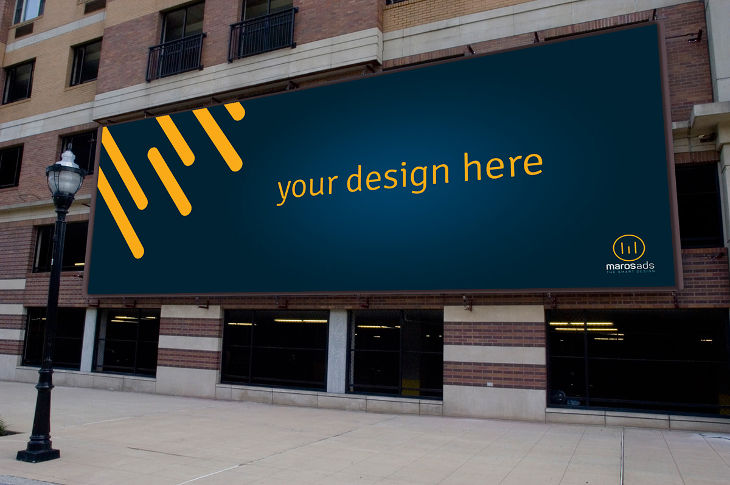 Outdoor Billboard Branding Mockup Design