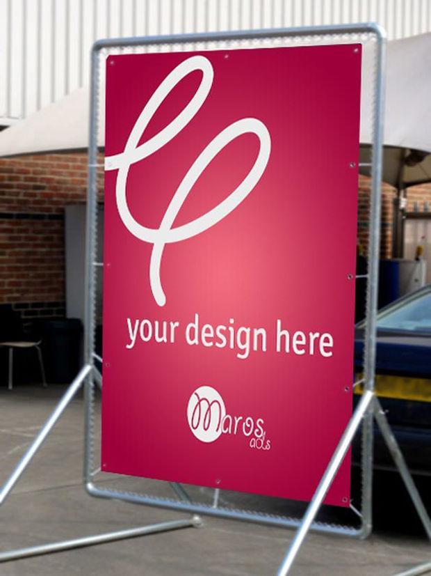 outdoor billboard mockup design 1