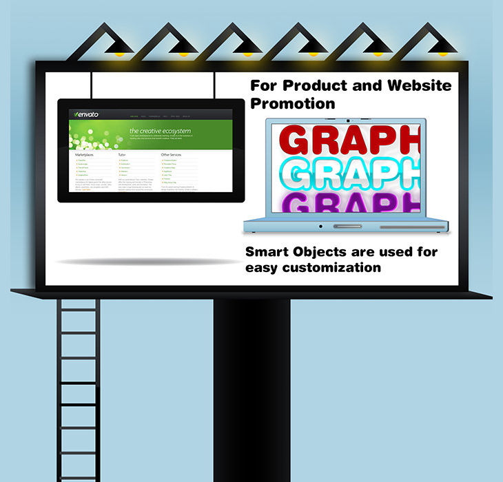 Billboard Branding Mockup Design