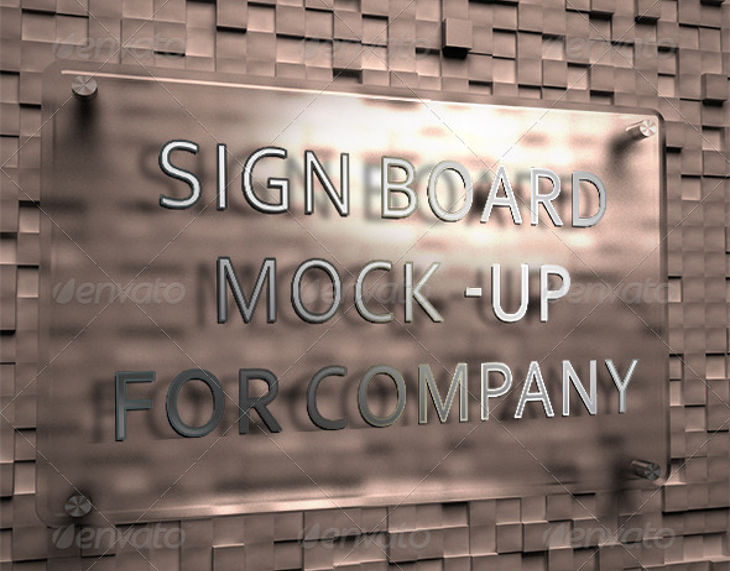 company signboard mockup1